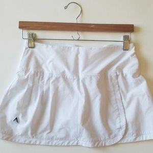 Antigua white tennis skirt skort short small
